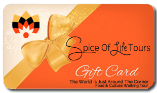Spice of Lift Food Tour Gift Card