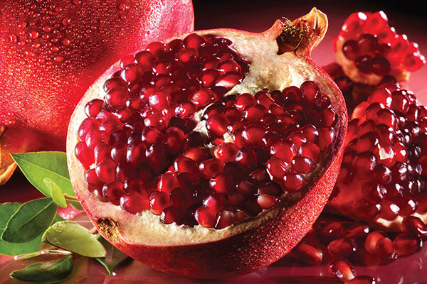 Pomegranate in Indian Food